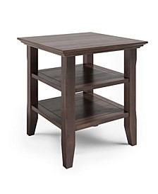 Acadian Solid Wood End Table