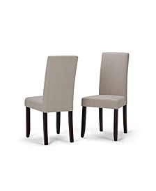 Acadian Parson Dining Chair, Set of 2