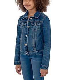 Big Girls Denim Trucker Jacket