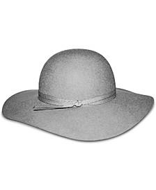 Felted Wool Floppy Hat