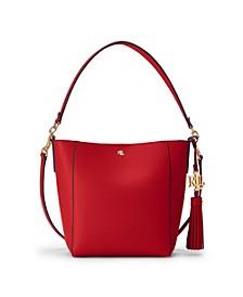 Leather Small Adley Shoulder Bag