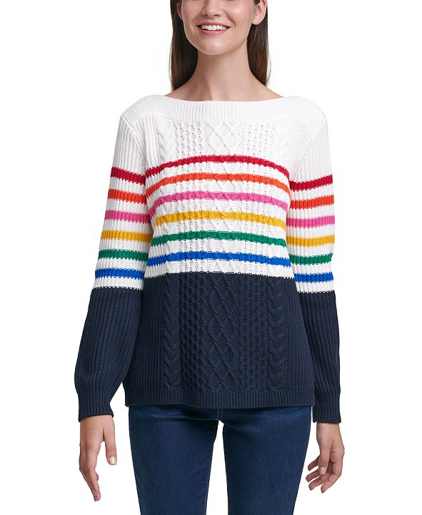 Tommy Hilfiger Striped Cate Sweater