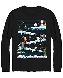 Men's Final Level Christmas Long Sleeve T-shirt