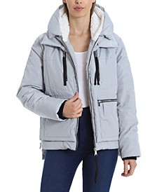 Women's Utility Hooded Puffer Jacket (39% Off) -- Comparable Value $99