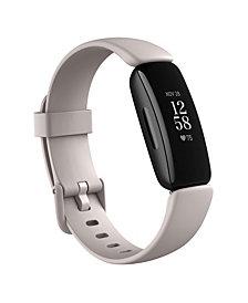 Fitbit Inspire 2 Lunar White Strap Smart Watch  19.5mm