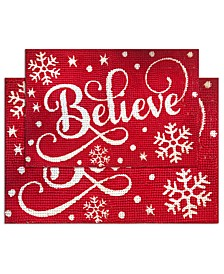 Believe 2-Pc. Bath Rug Set