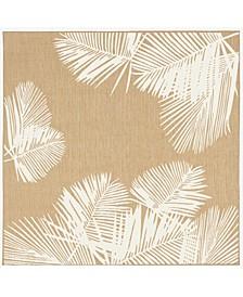 "Liora Manne Carmel Palm 7'10"" x 7'10"" Square Rug"