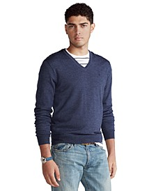 Men's Washable Merino Wool Sweater