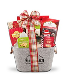 Merry And Bright Holiday Gift Basket