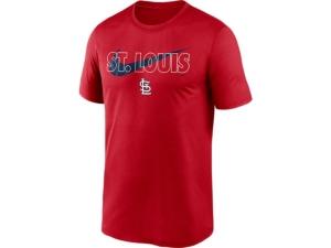 Nike St. Louis Cardinals Men's City Swoosh Legend T-Shirt