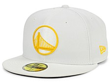 Golden State Warriors Whiteout Pop 59FIFTY Cap