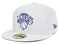 New York Knicks Whiteout Pop 59FIFTY Cap