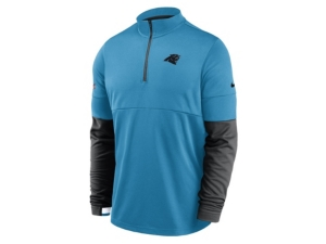 Nike Carolina Panthers Men's Sideline Half Zip Therma Top