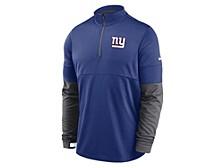 New York Giants Men's Sideline Half Zip Therma Top