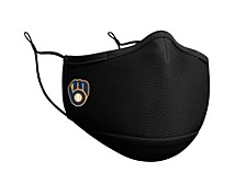 Milwaukee Brewers Black Team Face Mask
