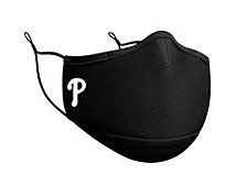 Philadelphia Phillies Black Team Face Mask
