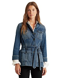 Utilitarian-Inspired Denim Jacket
