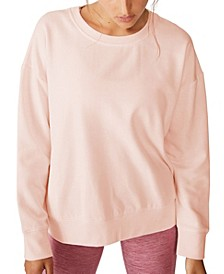Women's Long Sleeve Fleece Crew Sweatshirt