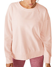 COTTON ON Women's Long Sleeve Fleece Crew Sweatshirt