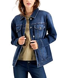 Denim Trucker Jacket, Created for Macy's