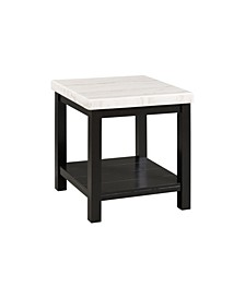 Evie Square End Table