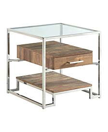 Hampton Square Storage End Table