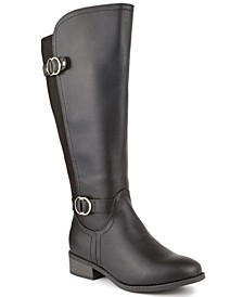 Leandraa Extended Wide-Calf Riding Boots, Created for Macy's