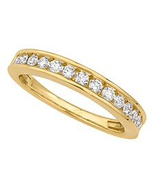 Certified Diamond Channel Band 1/2 ct. t.w. in 14k White or Yellow Gold