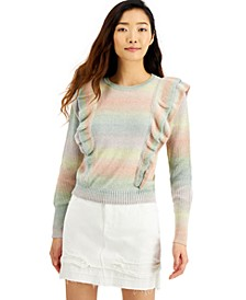 INC Ruffled Sweater, Created for Macy's