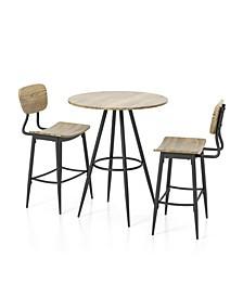 Rustonne 3-Piece Counter Dining Set