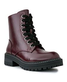 Women's Kagen Lug Sole Combat Boots