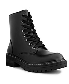 Women's Kaedy Lace-Up Combat Boots