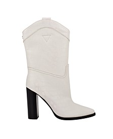 Marney Western Women's Regular Calf Dress Boots