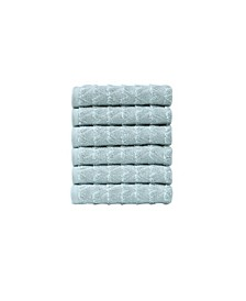 Azure Collection Washcloths 6-Pack