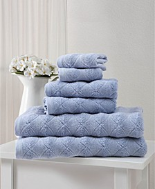 Esperance Collection Towel Sets of 6-Pack