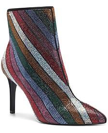 Women's Ingra Bling Booties, Created for Macy's