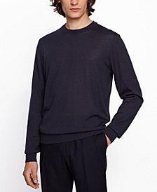 BOSS Men's Micolai Wool-Blend Sweater