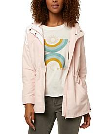Juniors' Gayle Hooded Rain Jacket