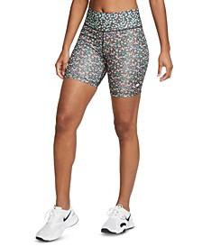 Women's One Printed Bike Shorts