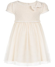 Baby Girls Sweater Knit Dress, Created for Macy's