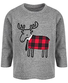 Baby Boys Reindeer T-Shirt, Created for Macy's