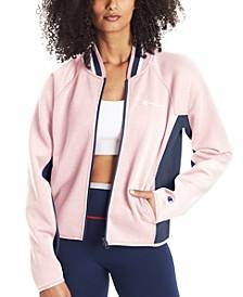 Women's Colorblocked Sport Varsity Jacket