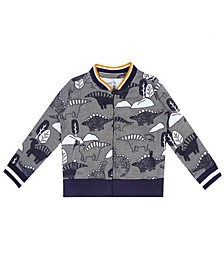 Earth Organic Baby Boy 1-Piece Chase Bomber Jacket