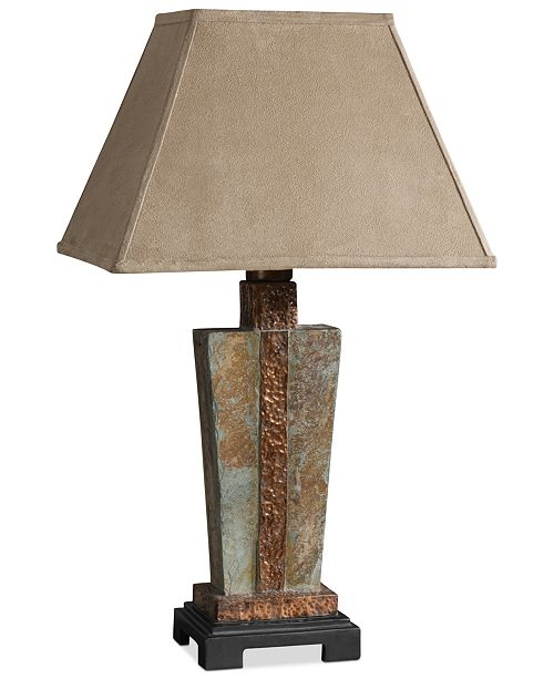 Slate Accent Table Lamp