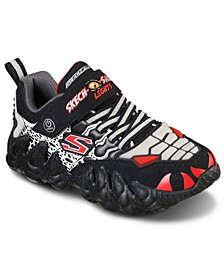 Little Boys S Lights Sketch-O-Saurus Casual Sneakers from Finish Line