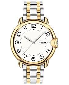 Women's Arden Two-Tone Stainless Steel Bracelet Watch 36mm