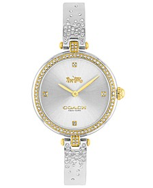 Women's Park Stainless Steel & Crystal Bracelet Watch 30mm