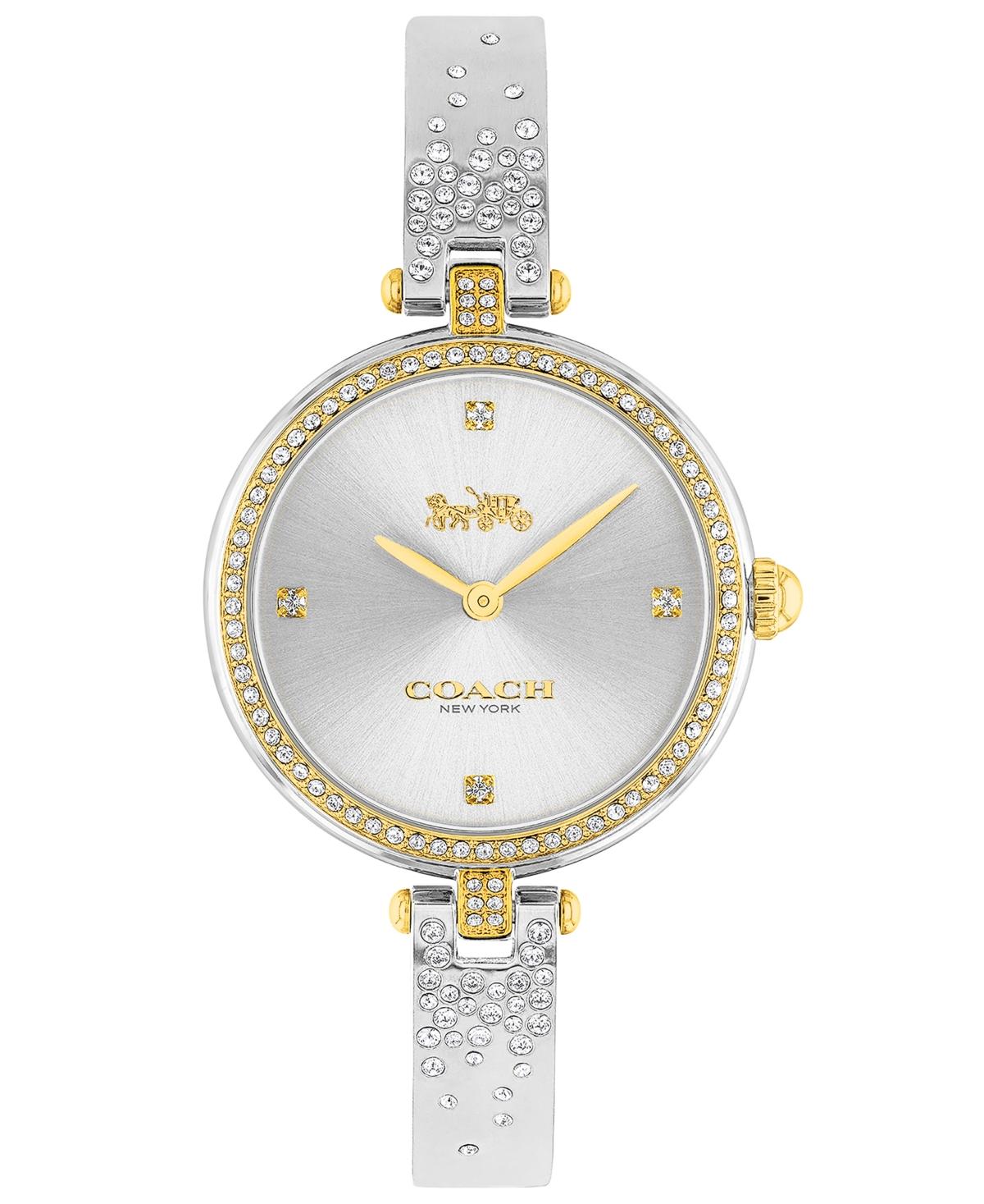 Coach Women's Park Stainless Steel & Crystal Bracelet Watch 30mm