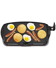 "10.5"" x 20"" Nonstick Electric Griddle"