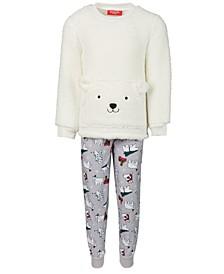 Matching Kids Polar Bears Family Pajama Set, Created for Macy's